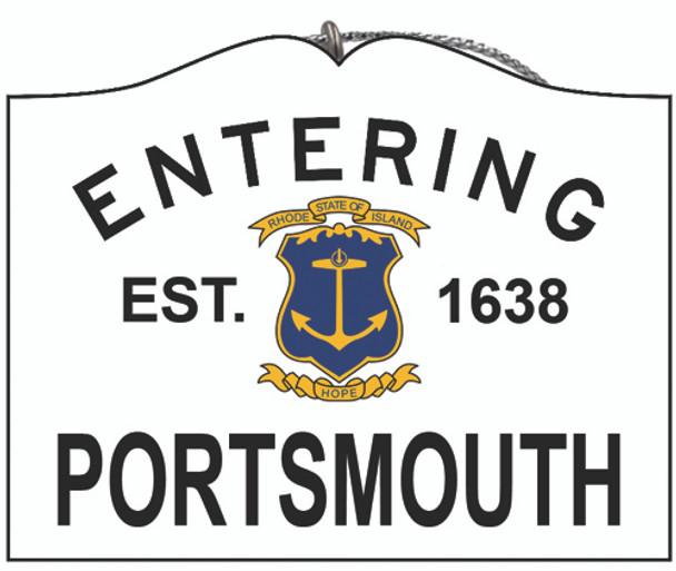 Entering Portsmouth