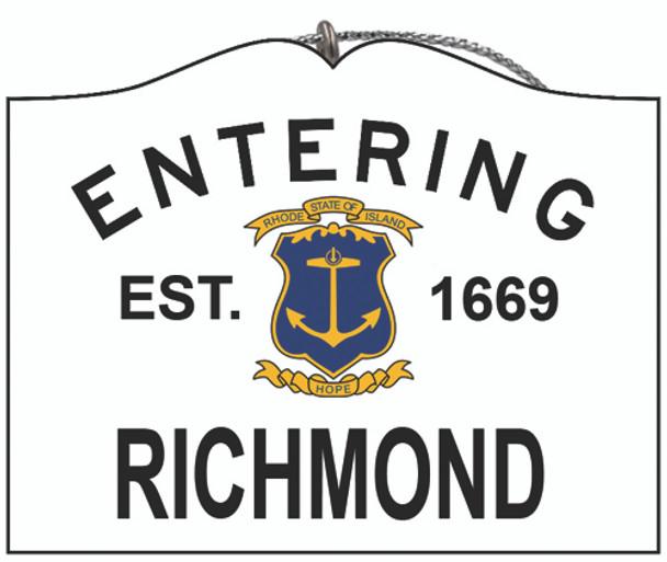 Entering Richmond