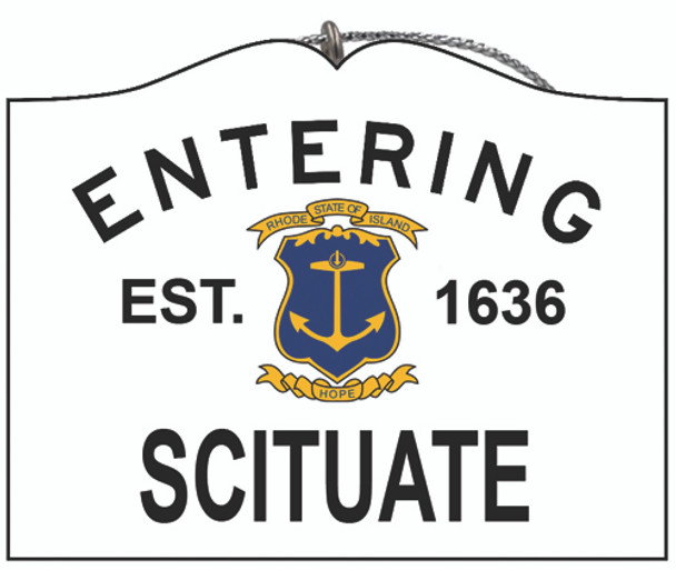 Entering Scituate