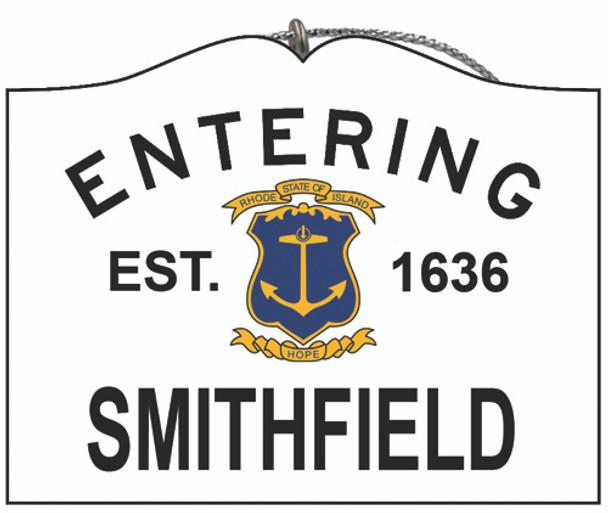 Entering Smithfield