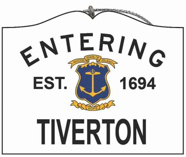 Entering Tiverton