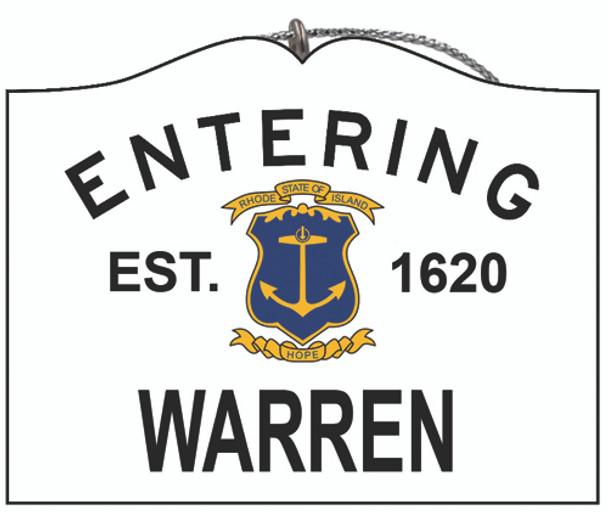Entering Warren