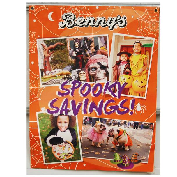"Benny's spooky Savings 30""x40"""