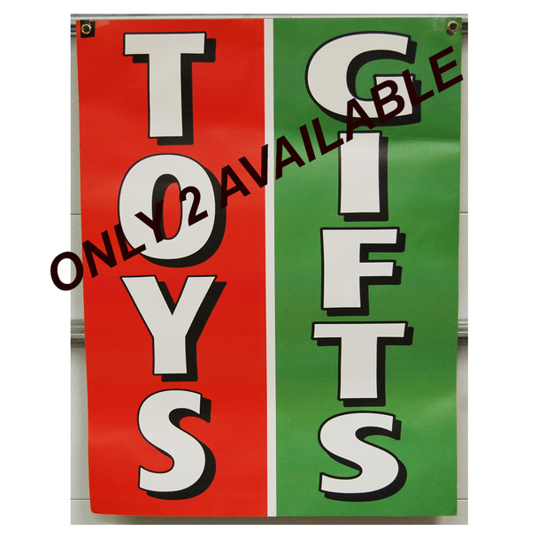 "Benny's Gift Toys 30""x40"""