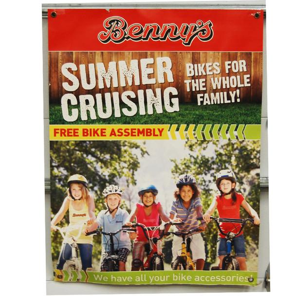 "Benny's Summer Cruising 30""x40"""