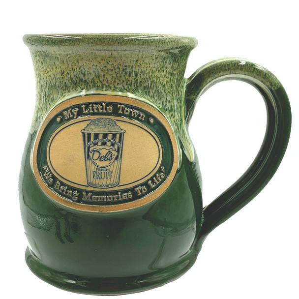 Del's cup hand thrown mug 14 oz