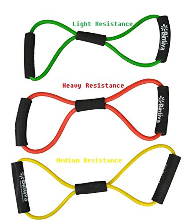 Muscle toning, Figure 8, Resistance Exercise Cord / Band