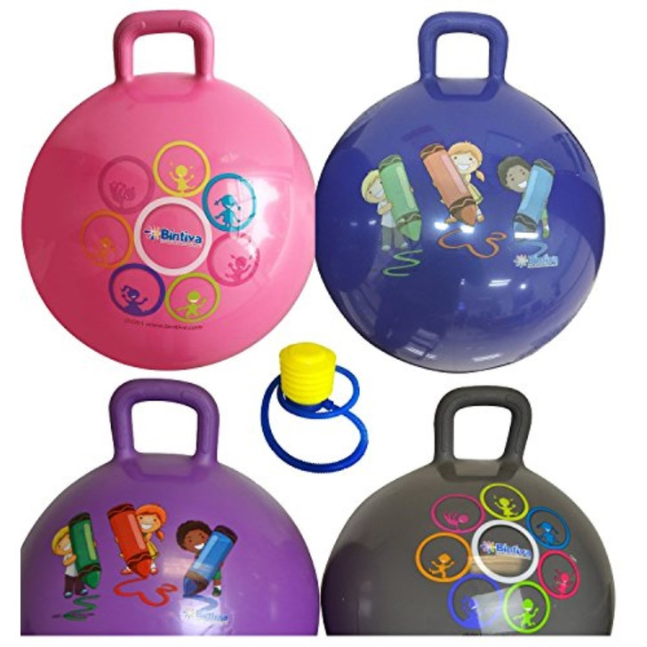 Bintiva Hopper Ball 45cm- Assorted Colors