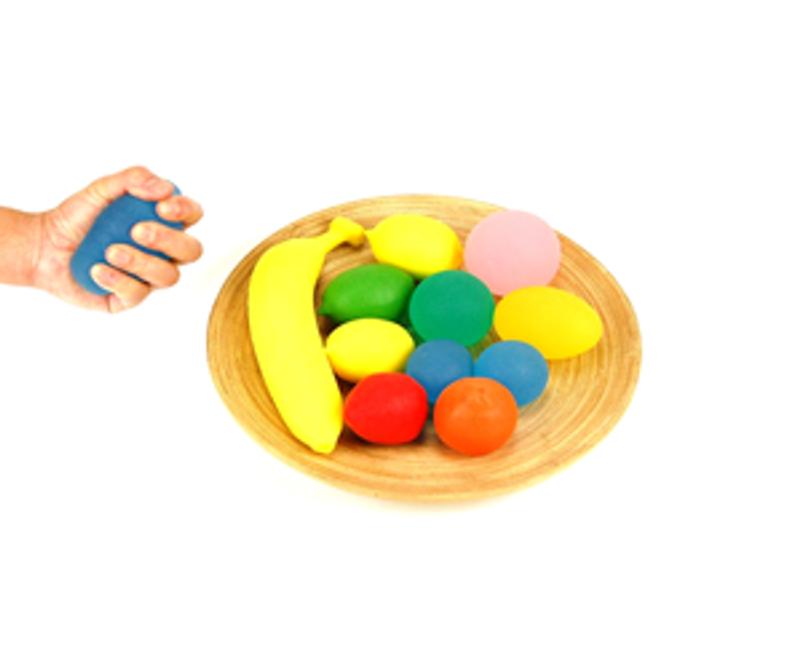 Fidget Toy - Stress Ball - Hand Strengthener For Focusing, and Finger Strengthening
