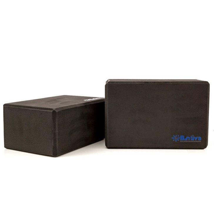 Eco Yoga Blocks, Large, Dense Bricks For All Positions - 2 Blocks