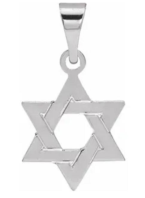 14kwg Star of David charm/pendant