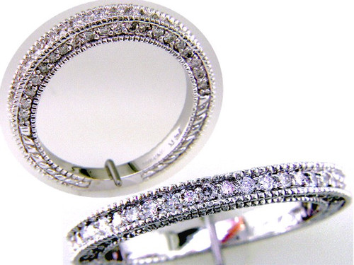 Custom design diamond anniversary band