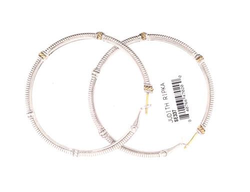 JR SS/18ky hoop earrings