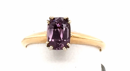 14 karat Purple Spinel ring