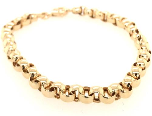 14kyg Rolo link bracelet
