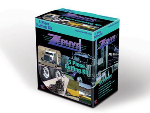 Zephyr 5 Piece Polishing/Buffing Kit