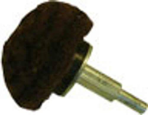 Zephyr 3 inch Scuffing Pad Shank Mounted