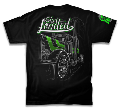 Stay Loaded T-Shirt - LimeLight