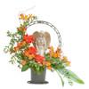 Heaven's Sunset Angel Basket