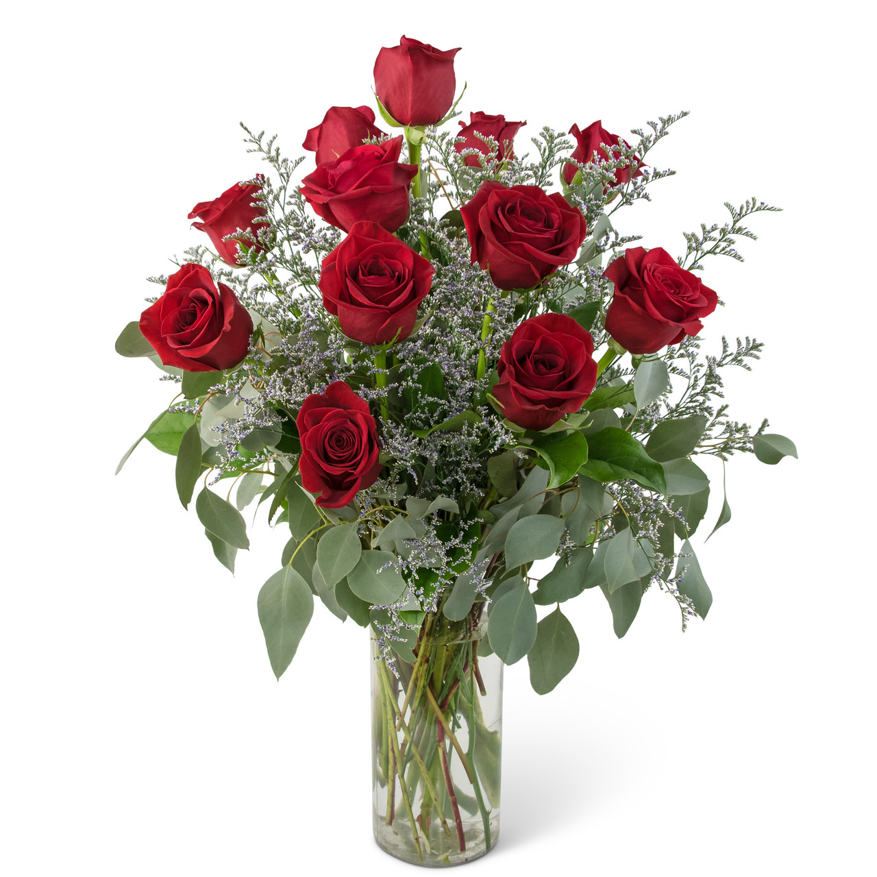 Elegance And Grace Dozen Roses Abbott Florist