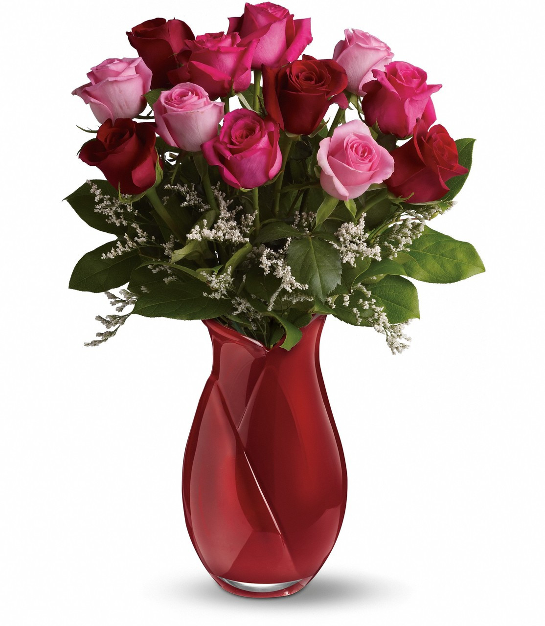 Say I Love You Bouquet Dozen Roses Abbott Florist
