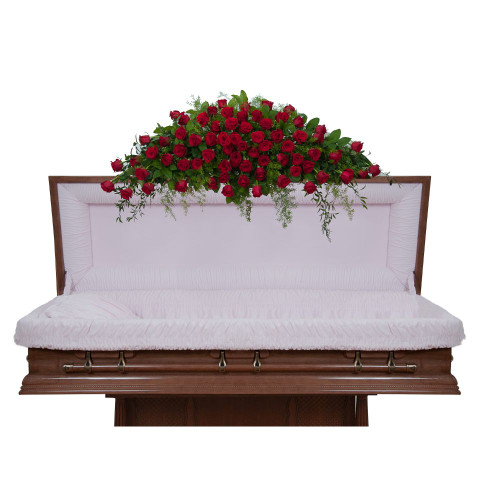 Royal Rose Casket Spray - Full