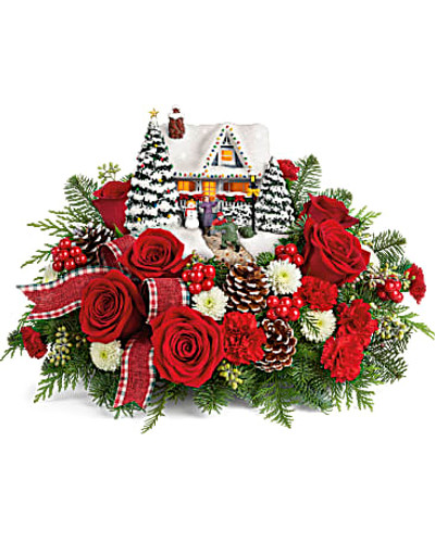 Thomas Kinkade's Hero's Welcome Bouquet SOLD OUT