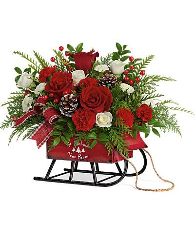 Teleflora's Sleigh Bells Bouquet SOLD OUT