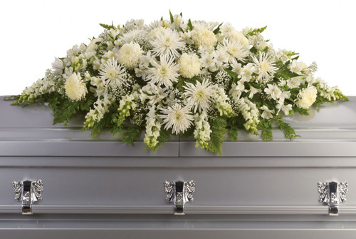 Enduring Light Casket Spray