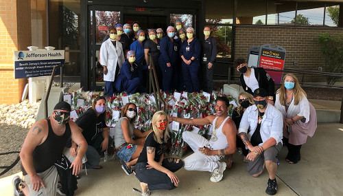 Abbott Florist Helps Create Special Moment for Washington Township School District Graduates & Staff