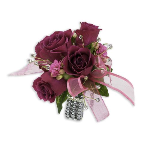 Fuchsia Wrist Corsage Abbott Florist