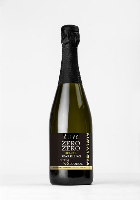 Elivo Zero Zero Deluxe Sparkling White Non-Alcoholic Wine