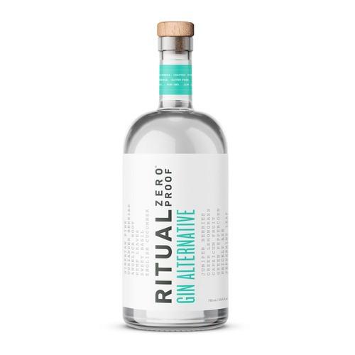 Ritual Zero Proof Non-Alcoholic Gin Alternative 750ml