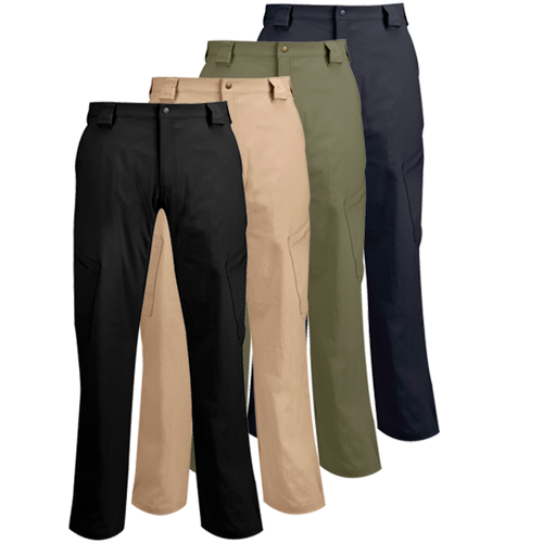 You'll have to look twice at our STL II Pant to spot its tactical features. Our clean design conceals clever functionality like sleek inverted cargo pockets and expandable openings for boots. Stretch nylon/spandex fabric keeps you from feeling restricted and reinforced kick panels stand up to a long day on your feet.