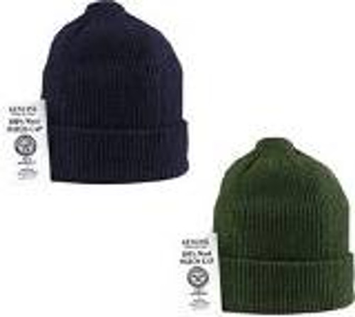 GI issue wool watch caps great to keep out the cold and and keep your head warm.