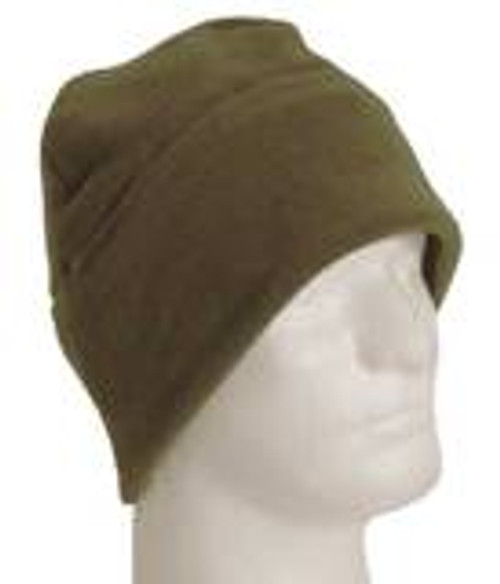 Voodoo Tactical Pro-Fleece Beanie. Double layer, full size fits most. Soft, warm, durable long wearing pro-fleece with full ear coverage. Fits under helmet.