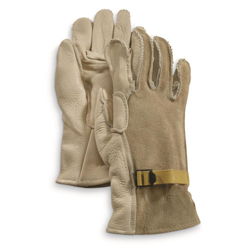 Black Or Tan military leather glove To be used with the D-3A wool glove liners Made in the USA