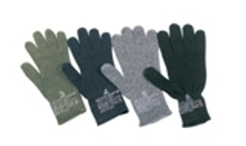Originally designed for the US military 75% Wool and 25% Nylon 5 finger style with ribbed wrist Made in the U