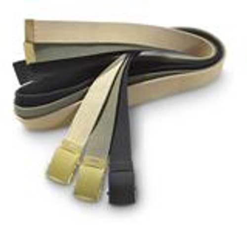 "A full 54"" in length, this belt can be cut to your desired size. Comes with a Brass buckle and a brass tip."
