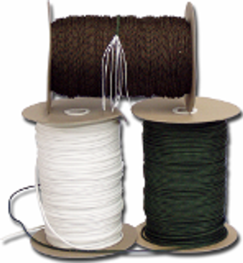 "1/8"" 550 cord Available in 1000 ft. spool , 100 ft length or 50 ft length Made in the US"