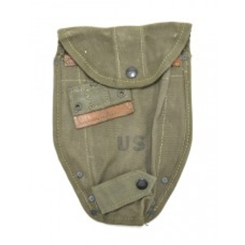 One original M56 Entrenching tool cover.  This is for the M43 Entrenching tool with the folding end.  Most are dated mid to late 50\'s.  This is the Etool cover that would have been used in early Vietnam.