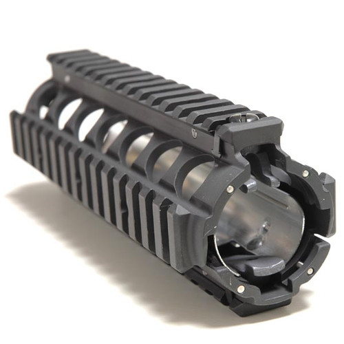 """Knights Armament M4 Carbine Rail Adapter System Weight: 11.6 oz Length 6 5/8""""  Will fit AR15 and M16 Carbines. Machined aluminum. U.S. Government Issue"""