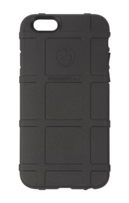 The Magpul Field Case for the iPhone 6 is a semi-rigid cover designed to provide basic protection in the field.  Made from a flexible thermoplastic, the Field Case features PMAG®-style ribs for added grip, snap-on design for easy installation and removal, and slides easily in and out of pockets without snagging.  Designed and manufactured in the U.S.A.!