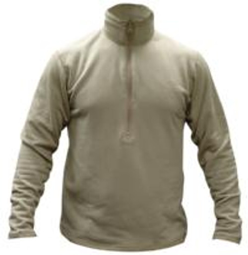 Anti-microbial, Anti-odor Protection, Breathable, Moisture-wicking Grid Fleece, can Zip-up Collar To Turtleneck, Long backtail & thumbhole Sleeves, Level II of Gen III ECWCS system