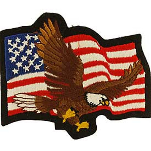 "All patches are embroidered and can be sew-on or ironed-on. Approx. 3"" in size."