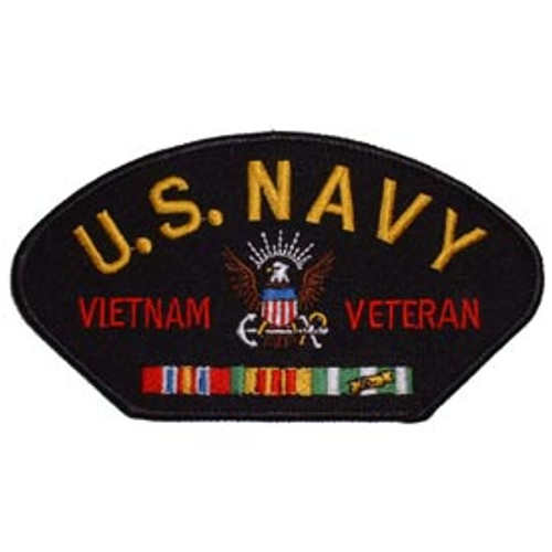 """All hat patches are embroidered and can be sew-on or ironed-on. Approx. 3""""x 5-1/4"""" in size."""