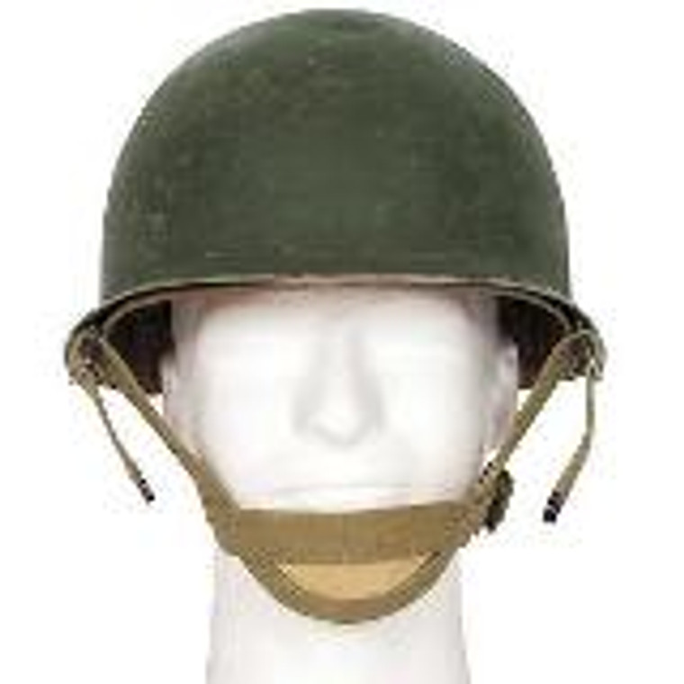 Used U.S.Vietnam era Military Steel pot helmet with liner. All helmets are in good condition.