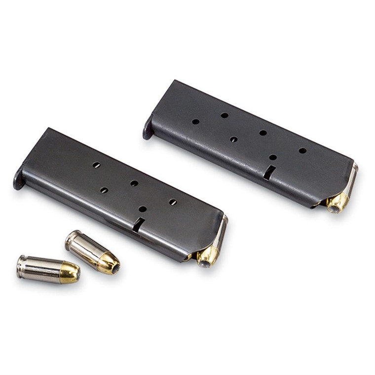 These are Colt 1911 .45 Caliber magazines. Brand new Military surplus