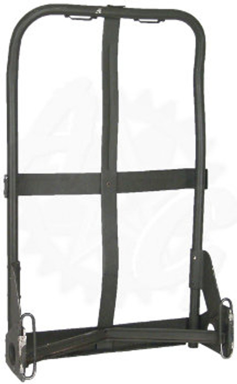 The ALICE Field Pack Frame is used as a mount for ALICE Field Packs. Constructed of durable and lightweight aluminum, they may be olive drab or grey in color (some may be painted). Optional for Medium ALICE Field Packs, required for Large ALICE Field Packs. This listing is for the bare frames only.