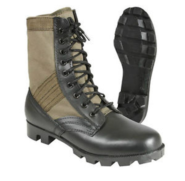 Jungle Boot with Canvas OD Upper